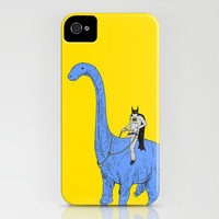 Dinosaur B iPhone & iPod Case by Joe Carr