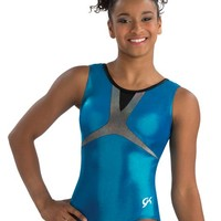 Sporty Scoop Back Electric Turquoise Leo from GK Elite