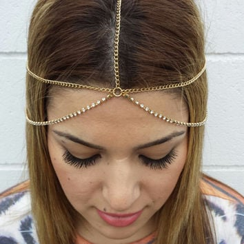 Stylish Diamonds Fashion Chain Strong Character Alloy Hot Sale Hairband = 4831071108