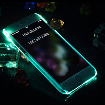 Mint Light Up Case For iPhone X 8 7 se 5s 6 6s Plus +Gift Box