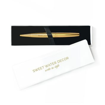 Boss Lady Gold Pen