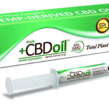 PlusCBD Hemp Oil Applicator 1,500mg CBD | 40 Servings @ 38mg