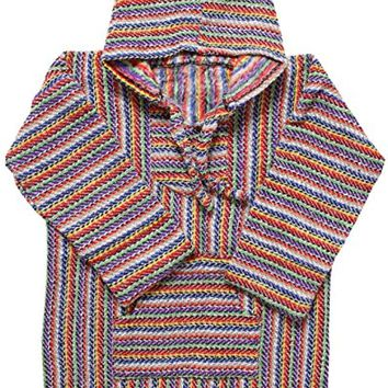 El Paso Mexican Poncho - Baja Hoodie Jacket Sweater - Joe Men & Women