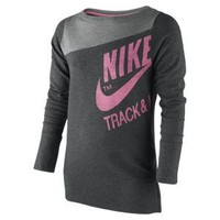 Nike Store. Nike Track & Field Girls' Running Sweatshirt