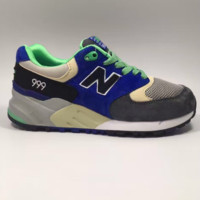 NEW BALANCE Women Men Casual Running Sport Shoes Sneakers blue N