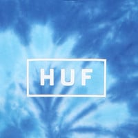 HUF Tie Dye Bar Logo T-Shirt at PacSun.com