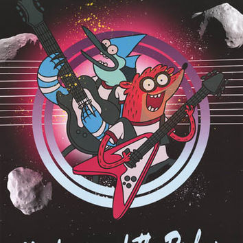 Regular Show Mordecai and the Rigbys Poster 22x34