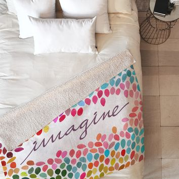 Garima Dhawan Imagine 1 Fleece Throw Blanket