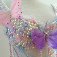 Pastel Fairy Bra and Chocker (2 piece)