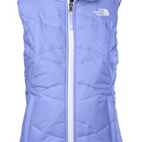 Girl's The North Face 'Perrito' Reversible Waterproof Vest