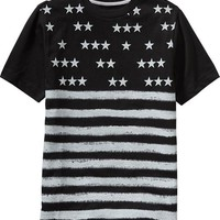 Old Navy Boys Stars And Stripes Tees