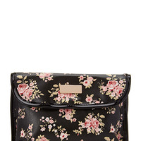 FOREVER 21 Cluster Rose Toiletry Case