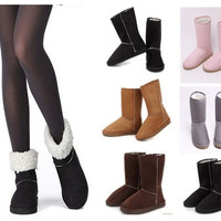 Fashion Women Lady Winter Warm Snow Boots Shoes Size US 5-9 = 1698057476