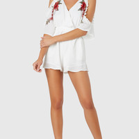 Patch You Later Romper
