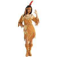 Forum Novelties Womens Native American Maiden Halloween Party Dress Costume