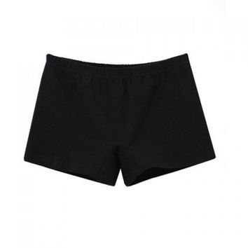 Casual Black Women's Sport Shorts