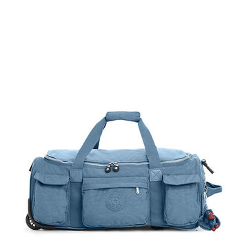 Discover Small Carry-On Rolling Luggage Duffle