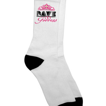 Rave Goddess Adult Crew Socks