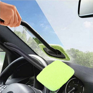 Car Wash Brush Microfiber Cloth Windshield Wash Glass Wiper Cleaning Tool Sigma Brushes Window Handle Cleaner Car Brush or home