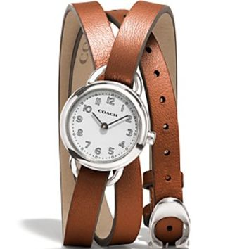 COACH Dree Double Wrap Watch, 23mm