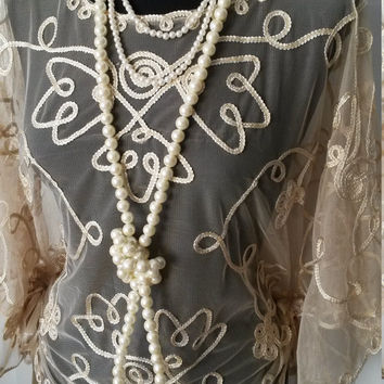 Christmas, roaring 20s, gold  flapper charleston 1920s, the great gatsby party ladies, cape, top size UK 14-16 USA 10-12 EUR 40-42