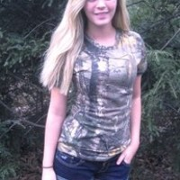 Lady Belle's Woman's Short Sleeve T-Shirt - Realtree Camouflage