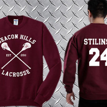 Stiles Stilinski 24,Teen Wolf  Custom Crewneck Sweatshirt for Unisex adult made by USA