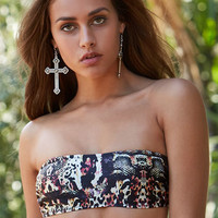 MinkPink Jungle Book Animal Print Bandeau Bikini Top at PacSun.com