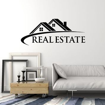 Vinyl Wall Decal Rent Home Letter Real Estate Agent House Decor Stickers Mural (g1501)