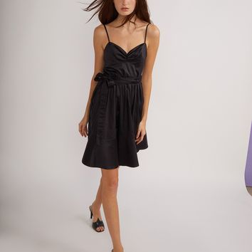 Polished Cotton Party Dress
