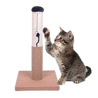 "Evalan Cat Scratching Post Sisal Wrapped Ultimate Cat Scratcher 22"" with Mouse Moving Cats Toy '"