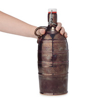 Metallic Stoneware Growler | ceramic growler