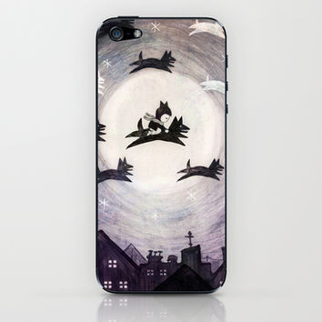 december wolves iPhone & iPod Skin by wirrow