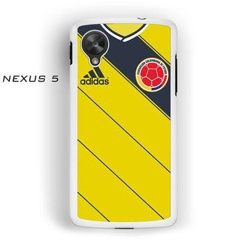 Colombia Soccer Jersey For Nexus 4/Nexus 5 Phone case ZG