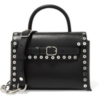 Alexander Wang - Attica mini studded textured-leather shoulder bag