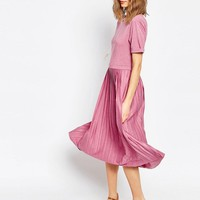 ASOS | ASOS Pleated Midi Dress at ASOS