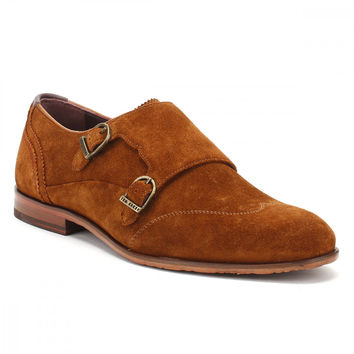 Ted Baker Mens Tan Suede Rovere Shoes