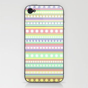 Pastel Pattern iPhone & iPod Skin by Romi Vega | Society6
