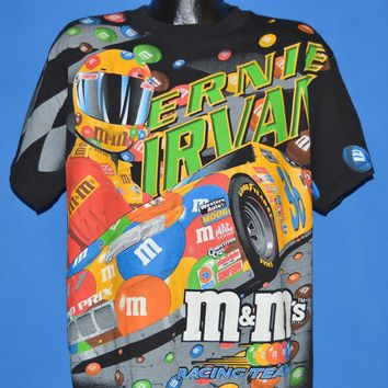 90s Ernie Irvan M&M's Power Unleashed t-shirt Large