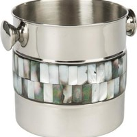 BARCLAY BUTERA Mother of Pearl Ice Bucket