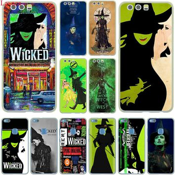 Lavaza Broadway Musical Wicked Lyrics Case for Huawei P20 Pro P10 P9 Plus P8 Mate 10 Lite Mini 2017 2016 2015 P smart Cover