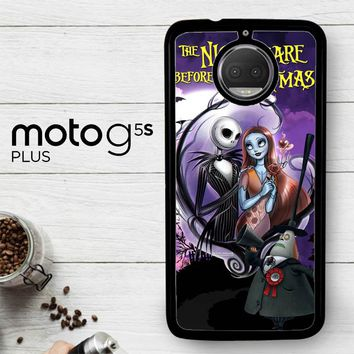 Jack And Sally Muertitos The Nightmare Before Christmas C0092  Motorola Moto G5S Plus Case