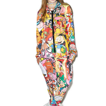 Rage On Totally 90s Jumpsuit Multi