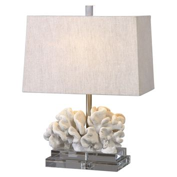 Coral Sculpture Accent Lamp by Uttermost