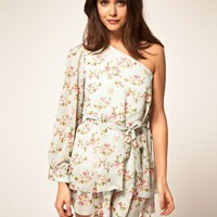 Rare | Rare Floral Tunic Dress at ASOS