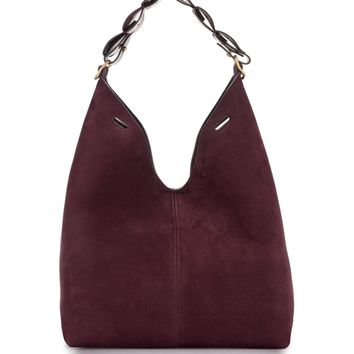 Anya Hindmarch Heart Link Small Suede Bucket Bag | Nordstrom