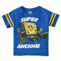 SpongeBob SquarePants ''Super Awesome'' Graphic Tee - Boys