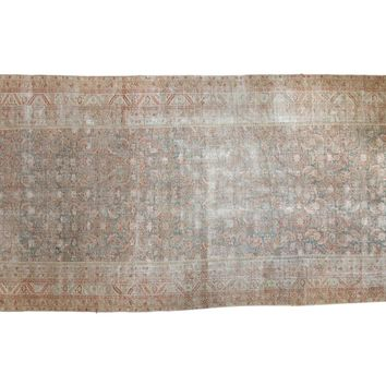 7x17.5 Distressed Antique Malayer Rug Runner