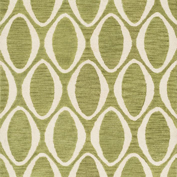 """Loloi Rugs - Taylor - 7'-10"""" X 11'-0"""" - Lime / Ivory"""