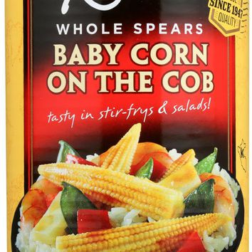 REESE: Baby Corn on the Cob Whole Spears, 15 oz